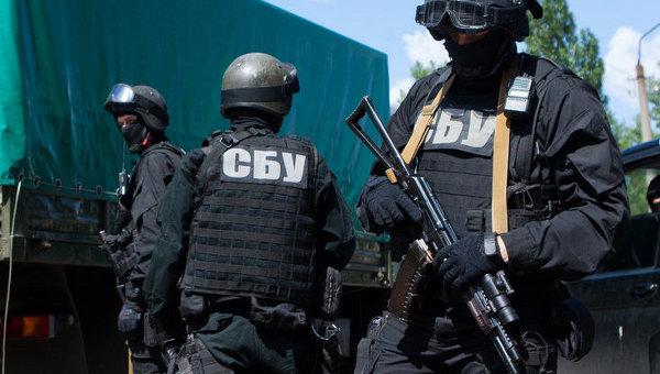 Сотрудники Службы безопасности Украины, архивное фото