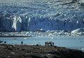 Экспедиция на архипелаг Новая Земля, ледник на  острове Северный