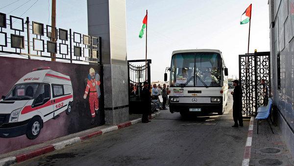 КПП Рафах. Архивное фото