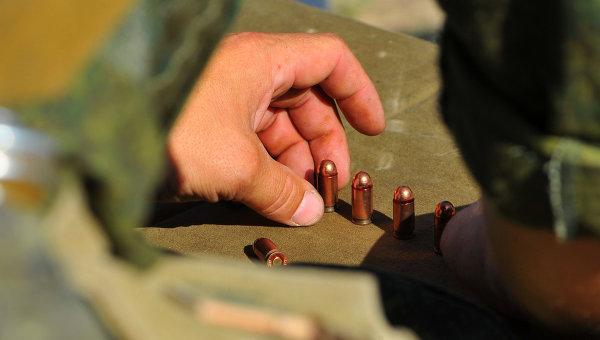 Пистолетные патроны. Архивное фото