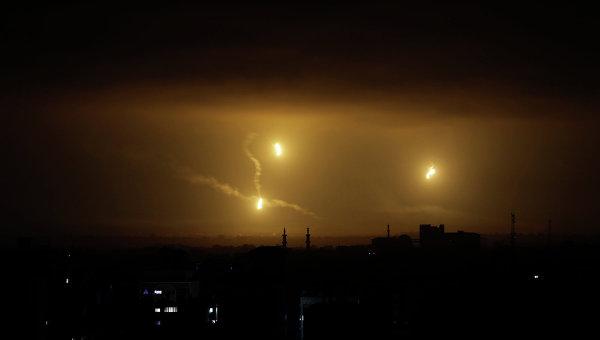 Ракеты в небе