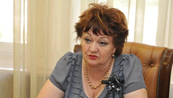 Председатель Российского Красного Креста Раиса Лукутцова