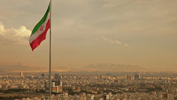Вид на Тегеран, Иран. Архивное фото