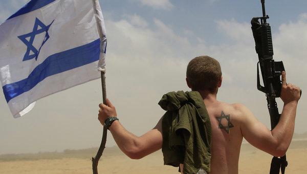 Военнослужащий армии Израиля в секторе Газа. Архивное фото