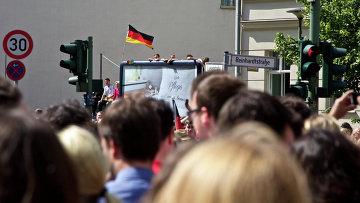 Митинг в Берлине. Архивное фото
