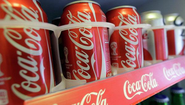 Продукция компании Coca-Cola. Архивное фото