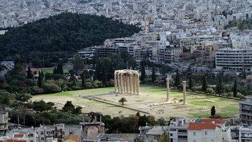Вид на Афины с высоты Акрополя. Архивное фото