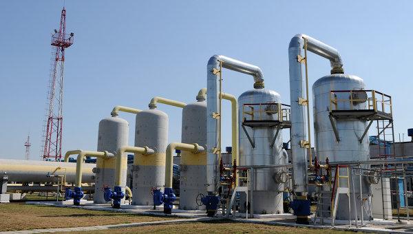 Отделение управления переработки газа на Украине