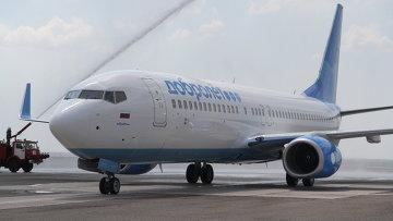 Самолет Boeing 737-800 авиакомпании Добролет. Архивное фото