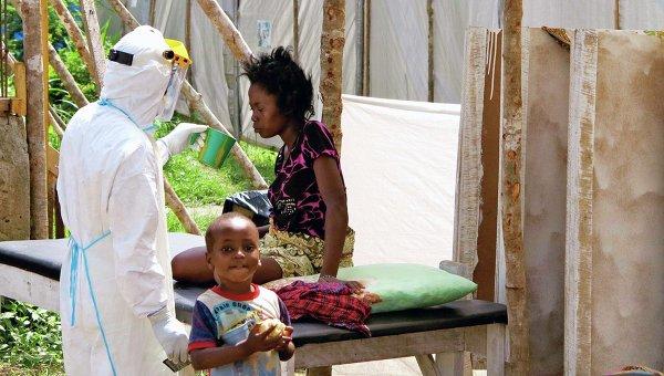 В реабилитационном центре для инфицированных вирусом Эбола в Африке