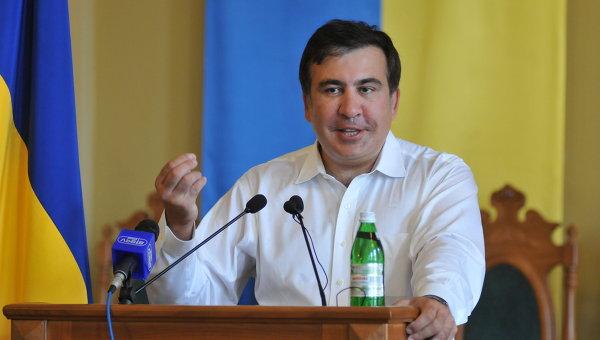 Бывший президент Грузии Михаил Саакашвили. Архивное фото.