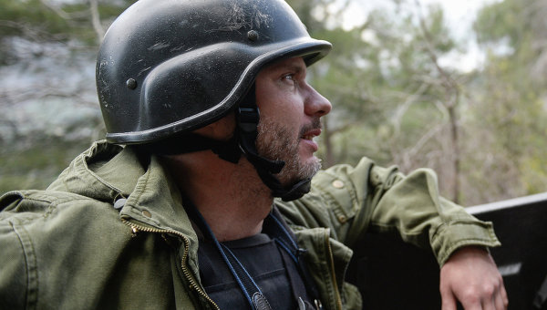 Специальный фотокорреспондент МИА Россия сегодня Андрей Стенин. Архивное фото