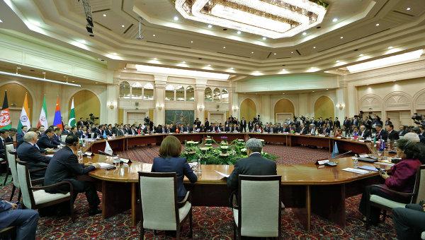Заседание глав правительств государств-членов Шанхайской организации сотрудничества (ШОС). Архивное фото