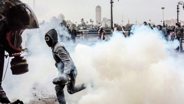 Столкновения в Каире. Архивное фото