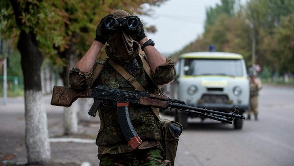 Украинский солдат из батальона Донбасс