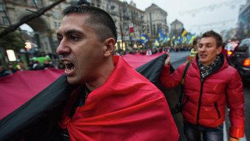 Марш неонацистов в Киеве, архивное фото