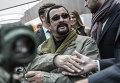 """Актер Стивен Сигал посетил выставку """"Оружие и охота"""" в Москве"""