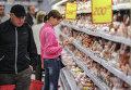 Мясной отдел супермаркета