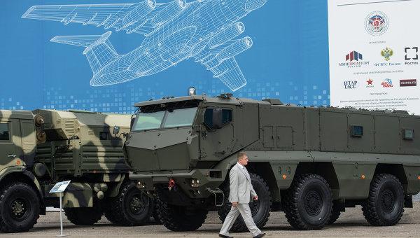 Бронеавтомобили повышенной защищенности КАМАЗ-63968 Тайфун