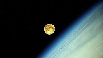 Фотография Луны. Архивное фото