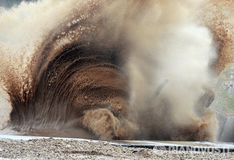 Танковый биатлон-2014. Спринт