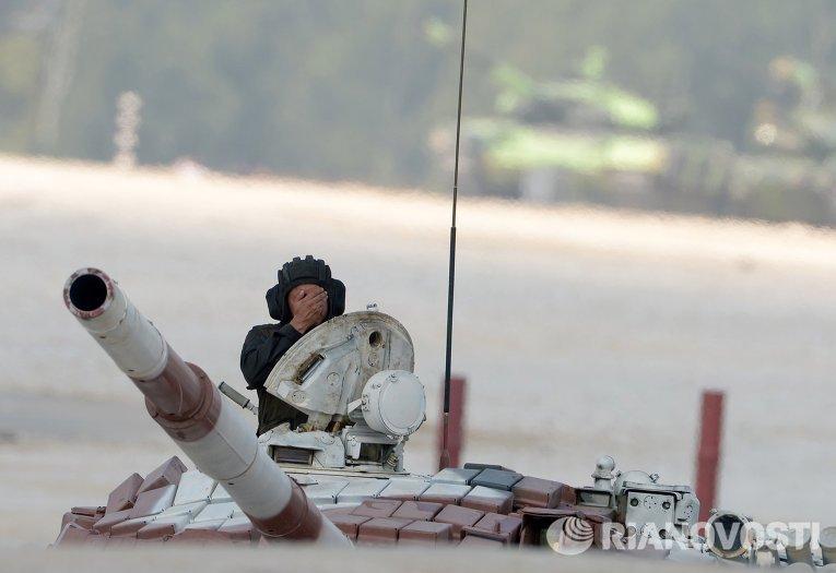 Танковый биатлон- 2014. Гонка преследования