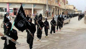 Бойцы Исламского государства в Сирии, архивное фото