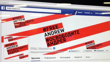 Страница МИА Россия сегодня в facebook