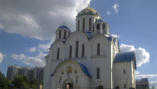 Храм Покрова в Ясенево
