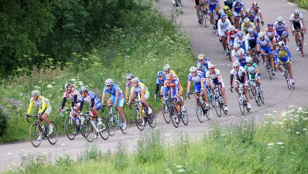 Велоспорт на шоссе. Архивное фото