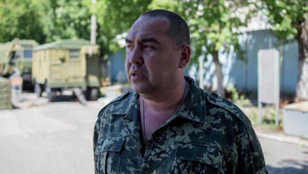 Премьер-министр Луганской народной республики Игорь Плотницкий. Архивное фото
