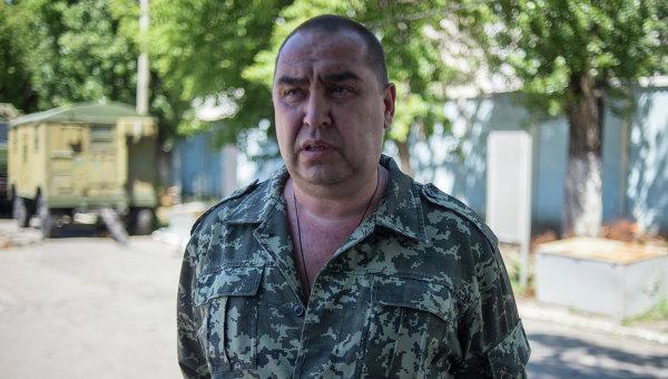 Премьер-министр Луганской народной республики Игорь Плотницкий, архивное фото