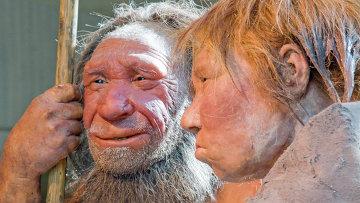 Доисторический неандерталец