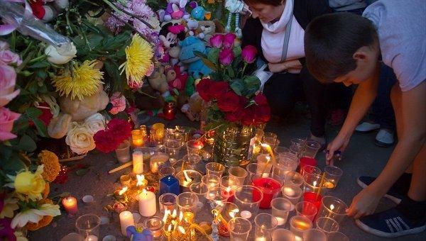 Акция памяти похищенной девочки в Томске
