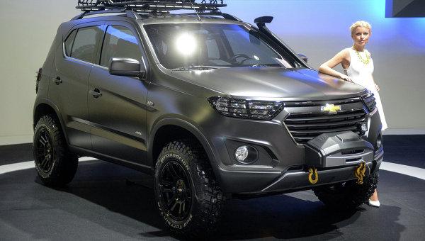 Автомобиль Chevrolet Niva concept. Архивное