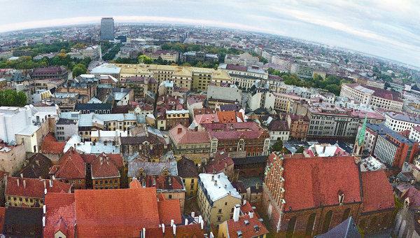 Вид на город Ригу. Архивное фото