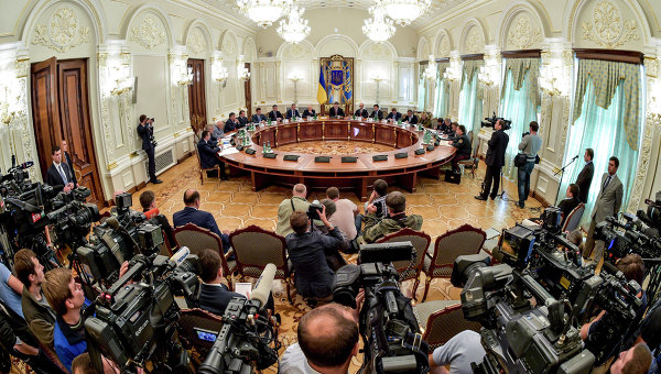 Заседание Совета национальной безопасности и обороны Украины. Архивное фото