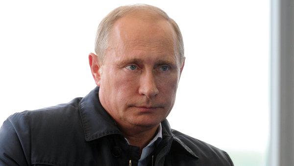 Владимир Путин посетил молодежный форум Селигер-2014