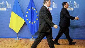 Визит президента Украины Петра Порошенко в Брюссель