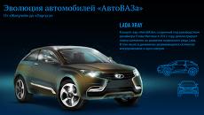 Эволюция автомобилей АвтоВАЗа