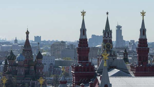 Виды на Красную площадь и собор Василия Блаженного