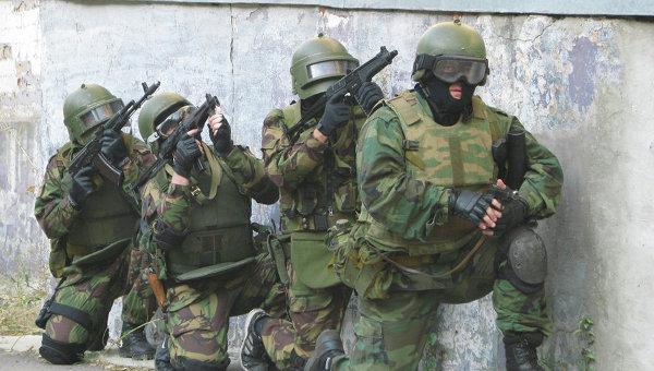 Сотрудники спецподразделения МВД. Архивное фото