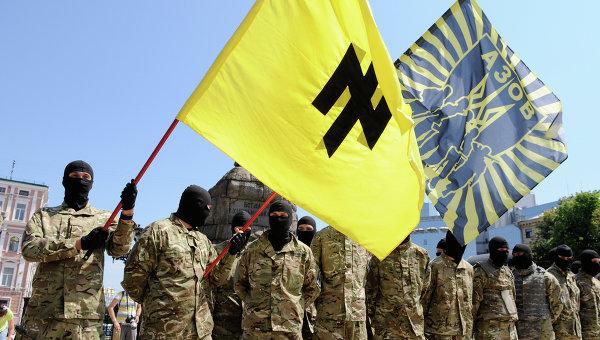 """Бойцы батальона """"Азов"""". Архивное фото."""