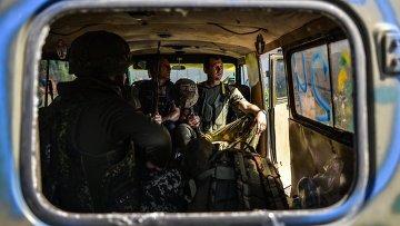 Бойцы батальона Айдар