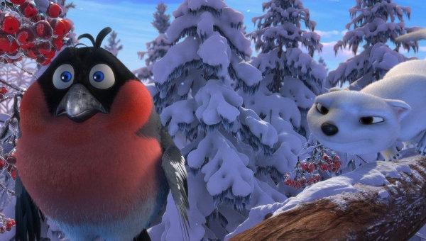Кадр из мультфильма Снежная королева 2