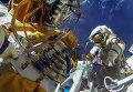 Работа на Выходе в космос