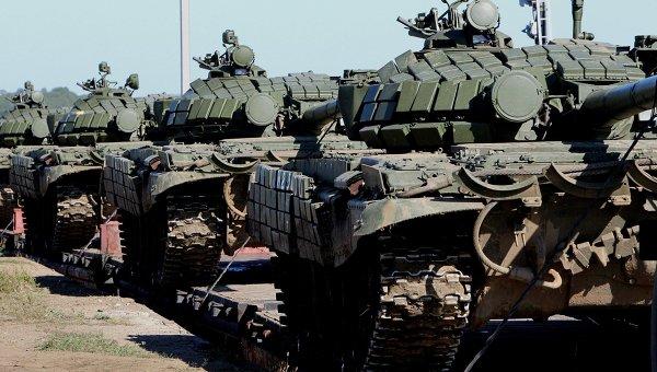 Мотострелковая бригада Восточного военного округа. Архивное фото