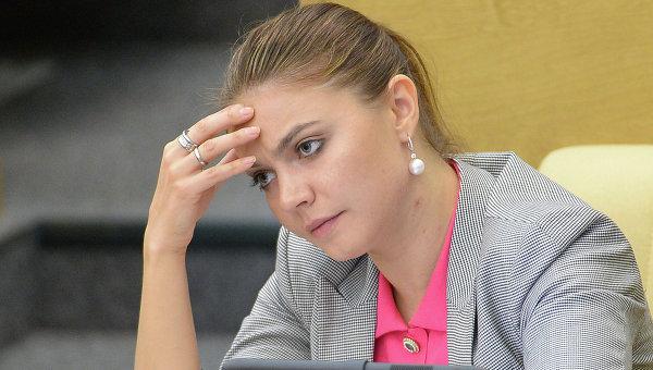 Алина Кабаева на заседании Государственной Думы РФ. Архивное фото