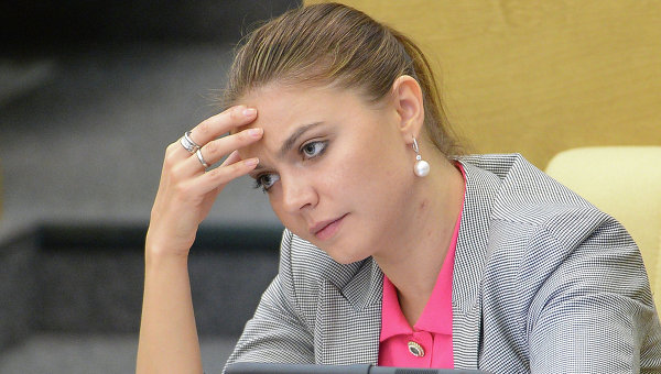 Алина Кабаева. Архивное фото