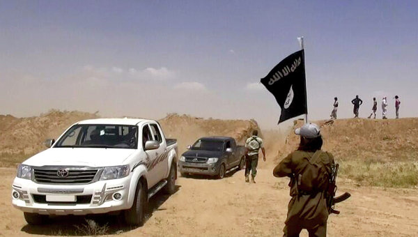 Сторонники Исламского государства. Архивное фото